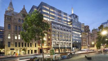 Netwealth has taken 2700 sq m in Dexus' historic Ball & Welch building at 180 Flinders Street.