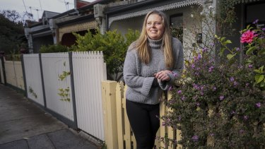 During the pandemic last year Lauren Boland escaped a tiny apartment in Elsternwick for a house in Northcote.