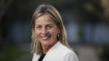 Angie Bell, the new Liberal member for Moncrieff, is the first openly gay woman to represent either major party in the lower house.