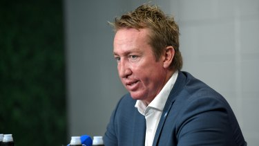 Trent Robinson wants to see a return to the days of the benefit of the doubt for the attacking side.