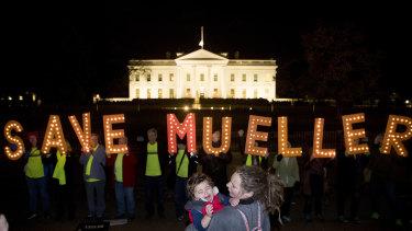 Save Mueller protest.