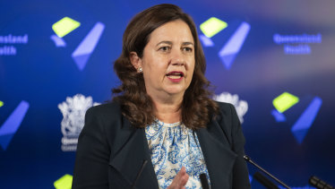 Queensland Premier Annastacia Palaszczuk says she is frustrated with the federal government's response to the coronavirus.