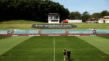Leichhardt Oval could be one ground to benefit from an upgrade.