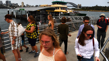 Patronage on ferries has plummeted by two-thirds in the past 12 months, according to Opal data.