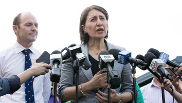 """We've taken the politics out of building things"": NSW Premier Gladys Berejiklian."