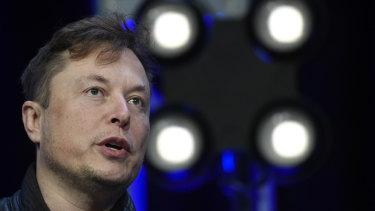 Three days ago, Elon Musk said he believed Tesla's share price was too high.