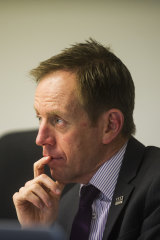 Corrective Services minister Shane Rattenbury