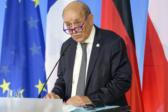 French Foreign Minister Jean-Yves Le Drian was quick to describe America's role in the submarine cancellation as Trumpist.