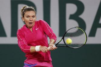 Simona Halep is riding a career-best winning streak of 17 matches.