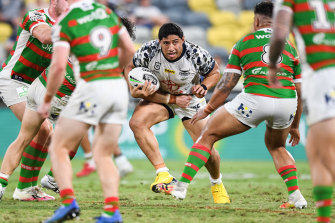 As many as 12 non-Queensland NRL teams will head to the Sunshine State for at least a month from Wednesday. Jason Taumalolo's Cowboys are one of the few teams set to stay put.