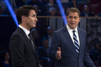 Conservative leader Andrew Scheer called Liberal leader and Canadian PM Justin Trudeau a fraud on multiple occasions during the debate.