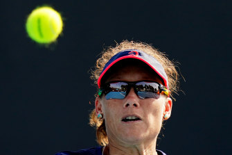 Samantha Stosur says she is going into this Australian Open feeling relaxed and ready to play.