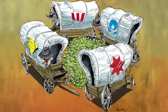 The big-four banks have been slashing dividends as they prepare for a tougher future.