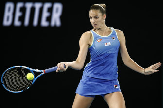 No crowds is better than no tennis at all, says world No.3 Karolina Pliskova.
