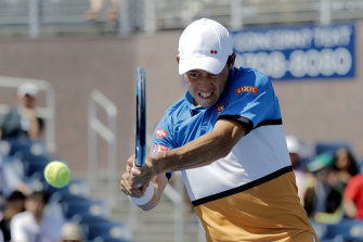 Kei Nishikori tested positive for COVID-19 in Florida.