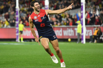 Christian Petracca will be a key player again for the Demons on Friday night.