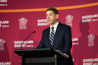 """Treasurer Cameron Dick says """"the people of Queensland"""" are his boss."""