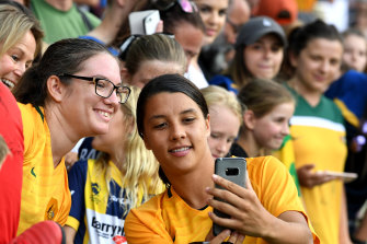 The Matildas could be playing a World Cup on home soil.