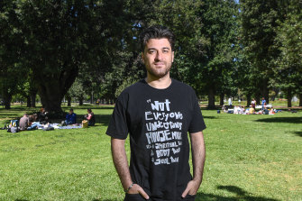 Yarra resident David Trimboli said council is missing an opportunity to support the arts, the community and local small businesses after COVID-19.