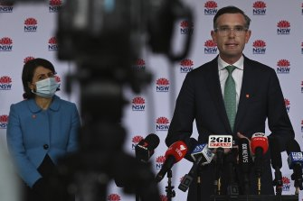 NSW Treasurer Dominic Perrottet says Perrottet says we can't simply expect things to go back to the way they were in February 2020 before the pandemic.
