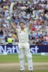 Another innings, another century for Steve Smith.