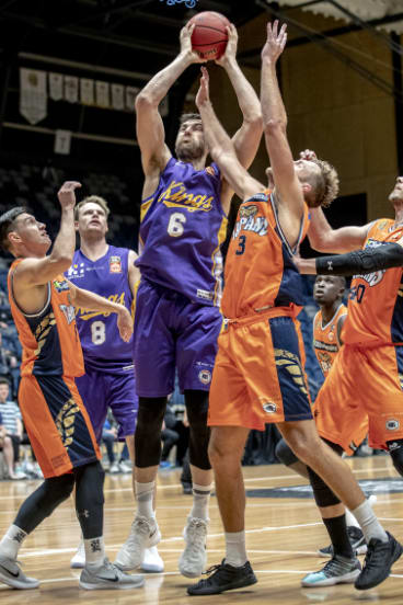 It was an uncharacteristically quiet game for Sydney Kings star Andrew Bogut.