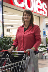 """It's a bit of a rort"": Tracey Cooley shops at Broadway before Coles brings in the ban."