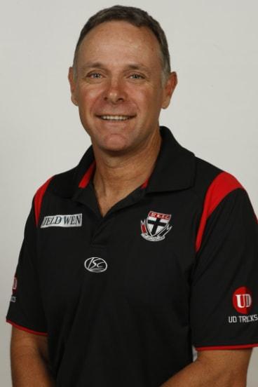 Former Saints list manager Tony Elshaug.