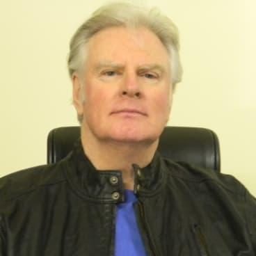 Author Doug Morrissey.