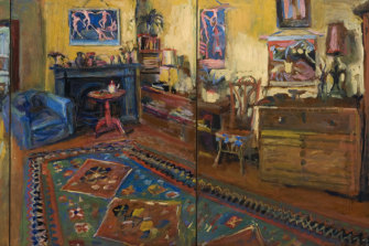 Yellow Room Triptych, 2007.