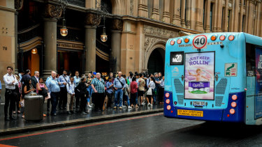 Patronage started to surge on both buses and trains in Sydney about five years ago.
