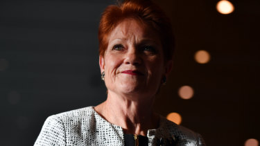 Pensioners slugged $100 to see Pauline Hanson at secretive meeting