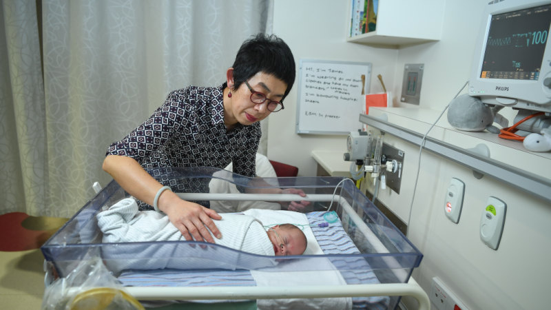 Neonatologist Jeanie Cheong is leading research into the outcomes of extremely premature babies at the Royal Women's Hospital.