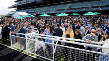 Royal Randwick enjoyed its biggest crowd this century with 40,578 ignoring the inclement weather.