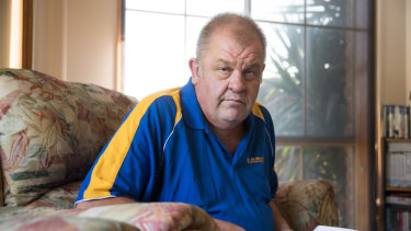 Ian Wood was left distressed after being contacted by a man who he wrongly believed was his genetic offspring.