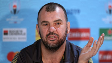 Cheika seems to have relished playing the contrarian ahead of the Wales clash.
