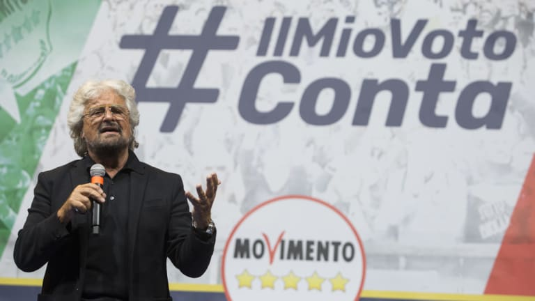 The Five Star Movement swept into power on the back of many protest movements, including one against a major upgrade of Genoa's infrastructure.
