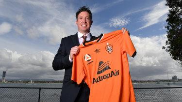 Godsend: New Brisbane Roar coach Robbie Fowler