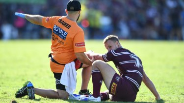 Sidelined: Daly Cherry-Evans will sit out as many as six weeks.
