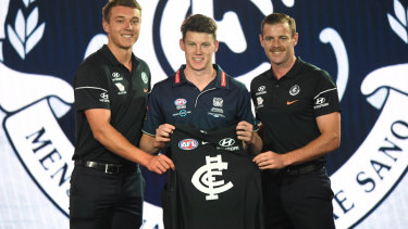 Risky business: Carlton in great, big AFL draft gamble
