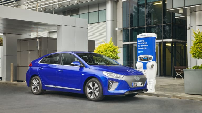 The Hyundai Ioniq is making electric vehicles more accessible for Australians due to its lower price entry point.