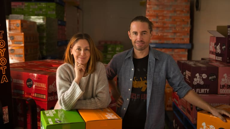 Sarah and Emmet Condon are the founders of Remedy Kombucha.