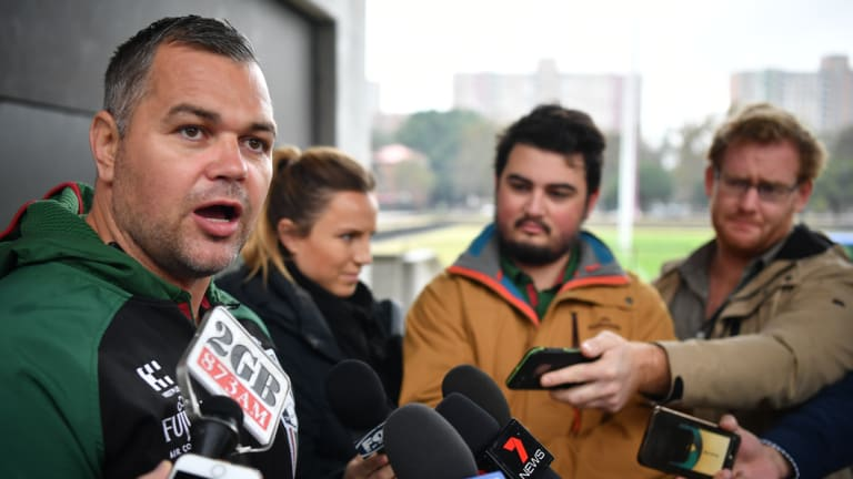 Anthony Seibold: 'Just because I gave the club an answer that they're unhappy with doesn't mean that I'm dishonourable.'