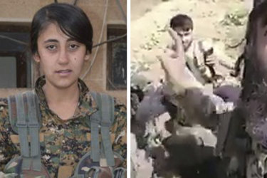 New video shows abuse of slain female fighter by Turkish forces