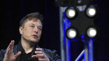 Elon Musk has urged Tesla staff to keep a lid on costs, or risk seeing the company's surging share price reverse course.