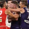 Franklin bags six but Fyfe breaks Swans' hearts