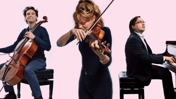 Uneasy listening to 'playful, spectacular spiccato': trio has it all
