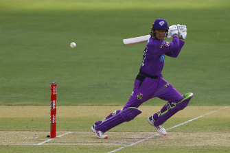 Peter Handscomb joined the Hobart Hurricanes for this Big Bash season.