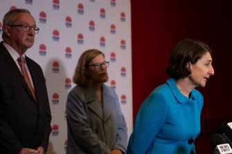 Premier Gladys Berejiklian has announced restrictions for Greater Sydney, as authorities search for the missing link between a quarantined traveller and eastern suburbs couple.