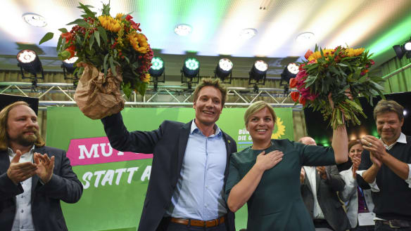 Greens eclipse rise of Germany's right in Bavaria